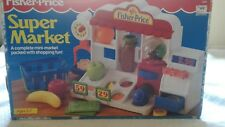 vintage fisher price super market 1991