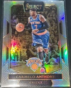 Carmelo Anthony 2016-17 Select COURTSIDE LEVEL SILVER PRIZM Parallel Card no.240