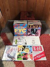 "Job Lot 7"" Singles Record Vinyl 45rpm 80-90s Record Case Included VG+ 100+"