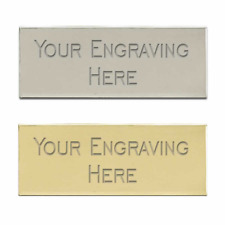 1 x ENGRAVED TROPHY AWARD PLAQUE PLATE NAME PICTURE FILMCELLS MANY SIZES
