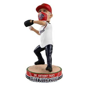 Dr. Fauci Anthony Fauci Washington Nationals First Pitch Bobblehead MLB IN STOCK
