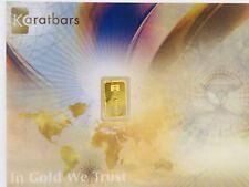 Nadir Karatbars 1/10th Gram Sealed Authentic .9999 Gold Bar