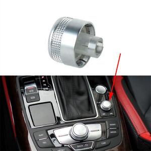 MMI Radio Volume Adjustment Knob Cap 4G0919070 For Audi A6 C7 A7 2012-16