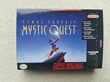 SNES Final Fantasy Mystic Quest, Custom Art case only, no game included