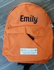 Backpack in a range of colours - personalised with dinosaur/ fancy fonts