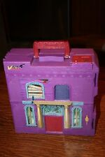 Matchbox Talking Haunted House Pop-up Carry Along Play Set no Cars Works