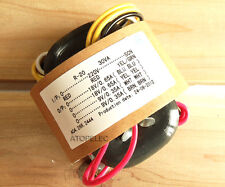 220V 30W r-core transformer for audio ampli amplificateur micros cad cd 18V+18V 9V+9V