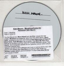(GU313) Kish Mauve, Morphine / Come On - DJ CD