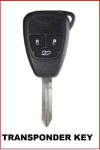 3B Transponder Remote Car Key suitable for CHRYSLER DODGE JEEP car key