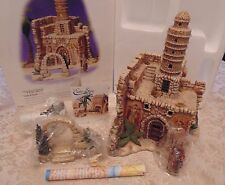 Dept 56 Holy Land TOWER OF DAVID 3pc #59810 The Easter Story Village Retired
