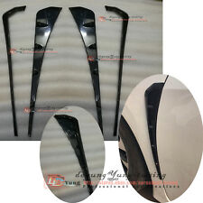 Type R Custom Unpainted Side Fender Vent Air Wing Cover Trim for Honda Civic 16+