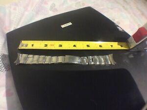 Rolex rivet bracelet vintage 1975 Stainless expansion bracelet 19mm band