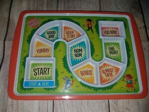 Fred and Friends DINNER WINNER Kids Plate. Gently Used.