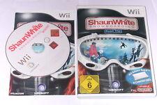"Nintendo Wii juego ""shaunwhite snowboard"" completamente"