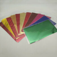 20PCS Foil Transfer Sheets Paper Laminating Craft Hot Stamping Laser Printer