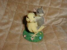 Charming Tails - Chickie Back Ride ! Free Usps Priority Ship !
