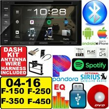 04-16 FORD F150/250/350/450/550 KENWOOD BLUETOOTH CD DVD USB EQ Radio Stereo