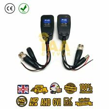 CCTV Passive Video Balun Power PTZ HD-TVI/CVI/AHD/CVBS 1 Pair BNC to CAT5 RJ45