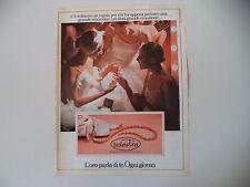 advertising Pubblicità 1981 GIOIELLI BALESTRA