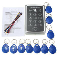 RFID Electric Keypad Lock Access Control ID Card Tags Readers Password System