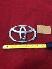 2007 2008 2009 Toyota Camry tailgate trunk lid emblem 75432-00000 W30 Chrome