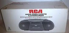 (New Open Box)Rca Am/Fm Stereo Radio Six Button Cassette Player Recorder Rp-7710