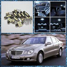 2002-2008 Mercedes Benz E-Class W211 No Error White LED Interior Light Kit 11pcs