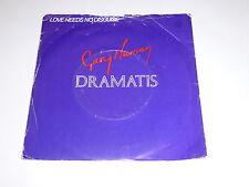 "GARY NUMAN & DRAMATIS - Love Needs No Disguise - 1981 UK 2-track 7"" Vinyl Single"