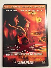 Xxx - Vin Diesel Movie (Dvd, 2002, Full Screen Special Edition)