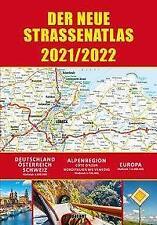 Straßenatlas 2021/2022 für Deutschland und Europa