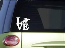 "Betta love sticker *H171* 6"" vinyl fish bowl decal aquarium"