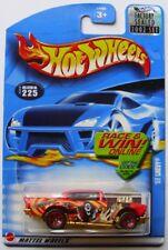 2002 Hot Wheels RLC/HWC #225 Factory Sealed Set 57 Chevy Teenage Freak w/Bonus