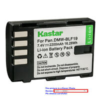 Kastar Replacement Battery for Panasonic DMW-BLF19 BLF19E & Lumix DMC-GH4 Camera