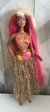 Hula Hair Barbie Doll