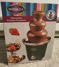 ***NEW***Nostalgia Chocolate Fountain