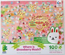 CEACO® KIDS MOSHIMOSHIKAWAII® WHERE IS STRAWBERRY MOSHI? 100pc Jig Saw PUZZLE