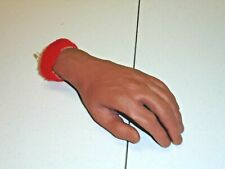 Vintage Russ Berrie & Co. PVC Lifelike Hand Sweatband Decor Collectible RARE