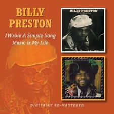 BILLY PRESTON I WROTE A SIMPLE SONG MUSIC IS MY LIFE 2 CD OUTA SPACE CIRCLES