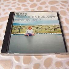 Travis - Why Does It Always Rain On Me? JAPAN CD 5 Track Single #120-2