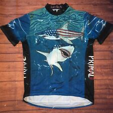 Primal Wear Cycling Jersey Size XL Land Shark
