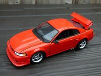 Rare SN-95 Small Block Ford SVT Mustang Cobra Toy Model American Muscle Car 1:18