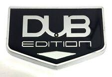 x1 New Chrysler / Dodge DUB Edition Emblem Badge Replaces OEM Mopar Hood / Trunk
