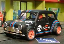 Slotcar BRM MINI Cooper MARTINI in 1:24 VORBEREITET für Carrera Digital  BRM090B