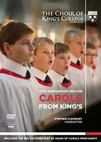 Carols From King's - 60th Anniversary Edition - The Choir Of King's Co (NEW DVD)