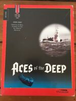 """Vtg 1994 Dynamix Aces Of The Deep MS-DOS 3.5"""" Floppy Disc Fantasy PC Video Game"""