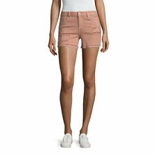 "Vanilla Star 4"" Blush Destructed Midi Shorts-Junior Size 0, 13 New Msrp $40.00"