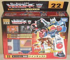 Transformers 22 Twincast Autobots Figures Dolls Encore Takara Tomy Unopened NIB