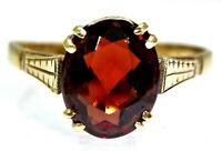 Pretty 0.20ct Diamond Fanned Band 9ct Yellow Gold Band ring size O ~ 7 14