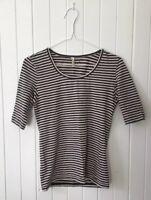 Organic Gorman 3/4 Sleeve Stripe Top in Size 8 #eBayMarket