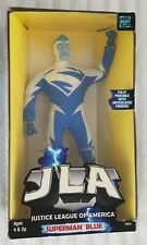 """Justice League Of America Superman Blue 8"""" Fully Poseable Action Figure Jla"""
